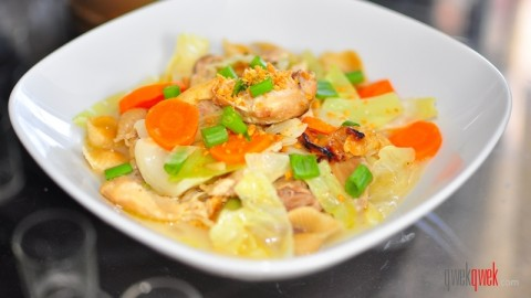 Filipino Chicken Sopas